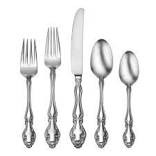 oneida adalyn 78 piece fine flatware service for 12 fine
