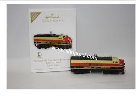 hallmark 2010 kansas city southern locomotive lionel trains ornament