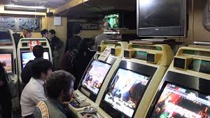 Street Fighter 3 Arcade Cabinet These Five Americans Moved To Japan For Street Fighter 3 Which Is