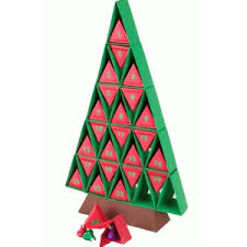 silhouette design store view design 69142 3d advent calendar tree
