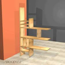 Bookshelf Room Divider Woodself How To Build A Room Divider Bookshelf Youtube