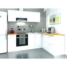 cuisine blanc et bois cuisine meuble bois cuisine equipee blanc laquee cuisine blanc