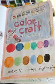 inside the water color set sketch book pamgarrison