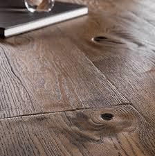 boen chalet oakantique brown brushed 20mm engineered wood flooring