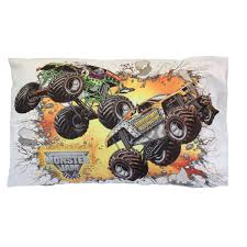 monster truck destruction android apps amazon com monster jam pillowcase truck destruction pillow cover