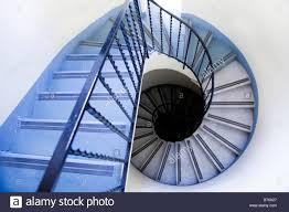 Spiral Staircase by High Angle View Of Old Spiral Staircase Stock Photo Royalty Free