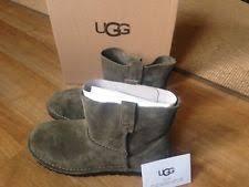 s ugg australia brown joey boots ugg australia slip on ankle boots for ebay