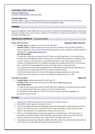 Resume For Manufacturing Regulatory Affairs Resume Resume For Your Job Application