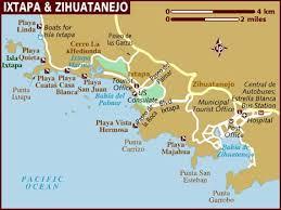 zihuatanejo map map of ixtapa zihuatanejo