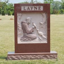 flat headstones for inch memorials michigan granite monuments grave headstones