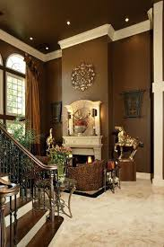 living room decor ideas fireplace without brown paint colors walls