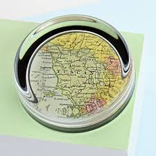 personalized paper weight gifts map personalised paperweight by ellie ellie notonthehighstreet