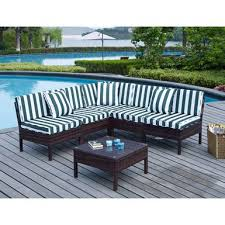 Rent To Own Patio Furniture Rent To Own Breakwater Bay Monticello 6 Piece Sectional Seating