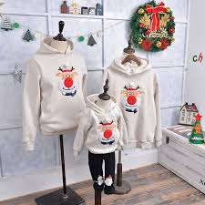 Sweater Pajamas Family Matching Clothes Baby Pajamas Hoodies
