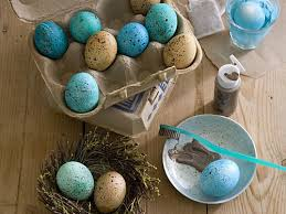 speckled easter eggs how to make speckled easter eggs southern living