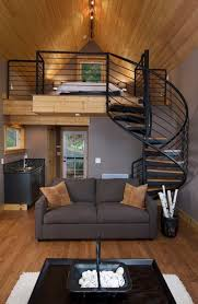 Four Lights Tiny House The Best Tiny House Build White Appliances Wood Stairs And