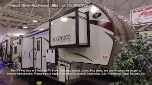 rockwood floor plans forest river rockwood ultra lite 5th 2650ws youtube