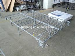 Platform Metal Bed Frame Mattress Foundation Steel Bed Frame Foundation Smart Base Steel Bed Frame Foundation