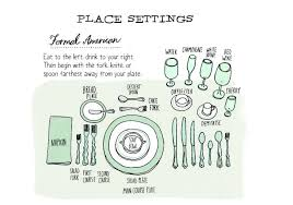place settings an illustrated guide to place settings around the world food republic