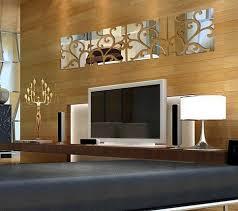 Aliexpress Home Decor Aliexpress Com Buy Big Acrylic Wall Sticker Silver Mirror Wall
