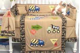Truck Crib Bedding Soho Camouflage Trucks Baby Crib Nursery Bedding Set 13pcs