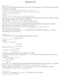 ncert solutions for class 11th maths chapter 2 u2013 relations and