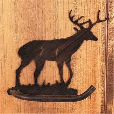 Animal Toilet Paper Holder Wrought Iron Deer Buck Collection Toilet Paper Holders
