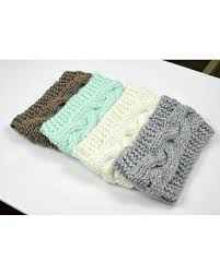 crochet band great deal on knit headband cable braided earwarmer crochet