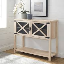 buffet sideboard cabinet storage kitchen hallway table industrial rustic forest gate wheatland entryway console table sideboard