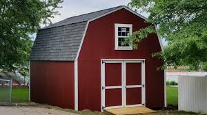 How To Build A Two Story Shed Country Barn U003e Portable Buildings Storage Sheds Tiny Houses Easy