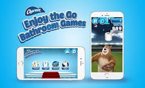 Charmin Bathroom Enjoy The Go With Our Bathroom Games App