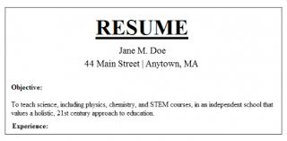 How To Do A Job Resume by Example Resume Education Education Resume Statements Cv And Resume