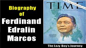 biography of ferdinand marcos biography of ferdinand edralin marcos sr youtube