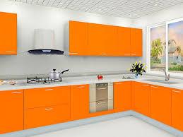 modern kitchen trellis ceiling orange corner cabinets white
