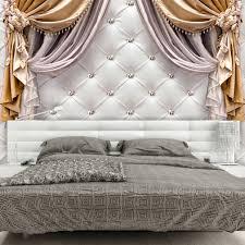 Fototapete Schlafzimmer Blau Vlies Fototapete Leder Weiß Tapete Wandbehänge Schlafzimmer