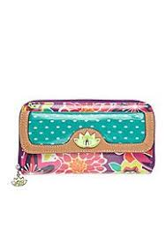 bloom wallet bloom eco shine zip clutch wallet wallets