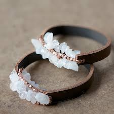 easy bracelet images Leather bracelet tutorial by anleitung f r ein jpg