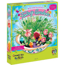 creativity for kids wee enchanted fairy garden craft kits