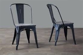 Black Bistro Chairs French Industrial Bistro Chair Home And Office Furniture Free