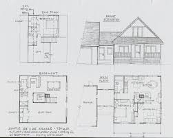 arts and crafts floor plans simple little house one of the few i u0027ve drawn years ago with