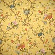 Scalamandre Upholstery Fabric 26464 002 Melograno Multi On Maize By Scalamandre