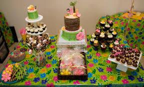 Luau Cake Decorations Luau Party Decorations