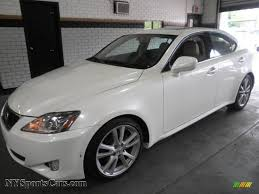 lexus cars 2006 2006 lexus is 250 in crystal white 018570 nysportscars com