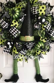 Etsy Halloween Wreath by Best 20 Witch Wreath Ideas On Pinterest Witch Wreath Diy Deco