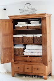 linen closet linen closet organization a bowl full of lemons