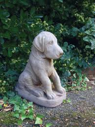 great dane puppy statue large garden ornament s s shop