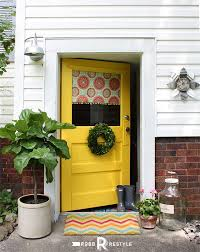 front door makeover modern masters cafe blog