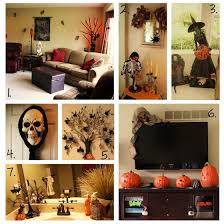 cool halloween decorations scary sculpture in la living room skull