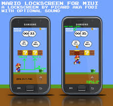 mario for android interactive miui mario lockscreen can unlock your phone but not