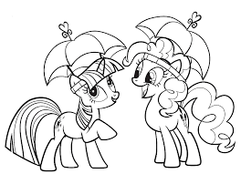 hasbro coloring pages my little pony friendship is magic is an animated television